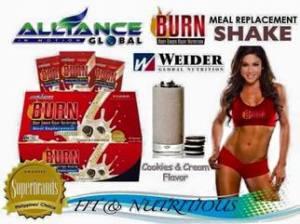 burn meal replacement shake