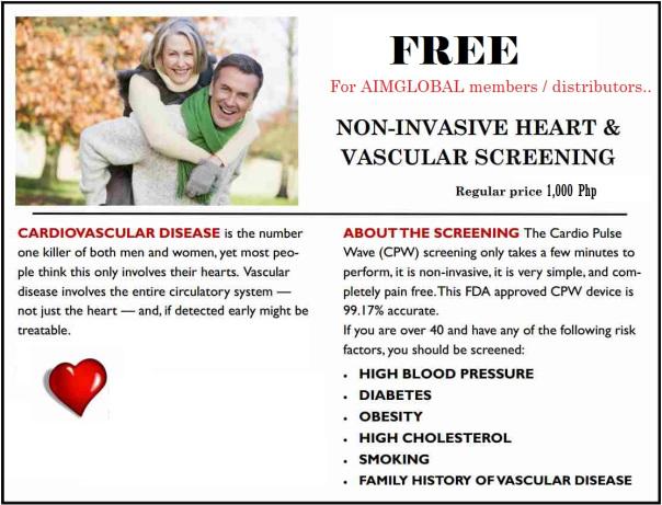 free cardiovascular-testing