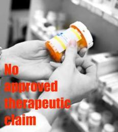 no-approve-therapeutic-claim